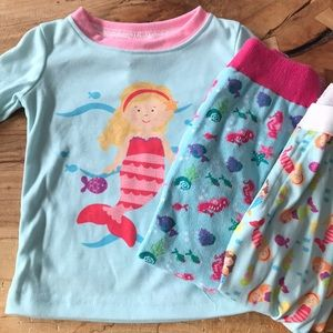 NEW! Three piece mermaid pajamas
